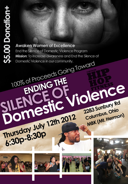 Spread word and Share: Awaken Women of Excellence End the Silence of Domestic Violence Program Mission: To increase awareness and End the Silence of Domestic Violence in our community.