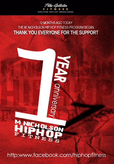 M. Nicholson Hip Hop Fitness ONE YEAR