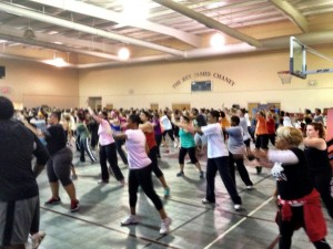 M. Nicholson 2 Hour Hip Hop Fitness 9/24/2012 gettin' it part 2