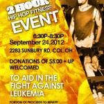 Hip Hop Fitness Event to Support Leukemia and Lymphoma Society
