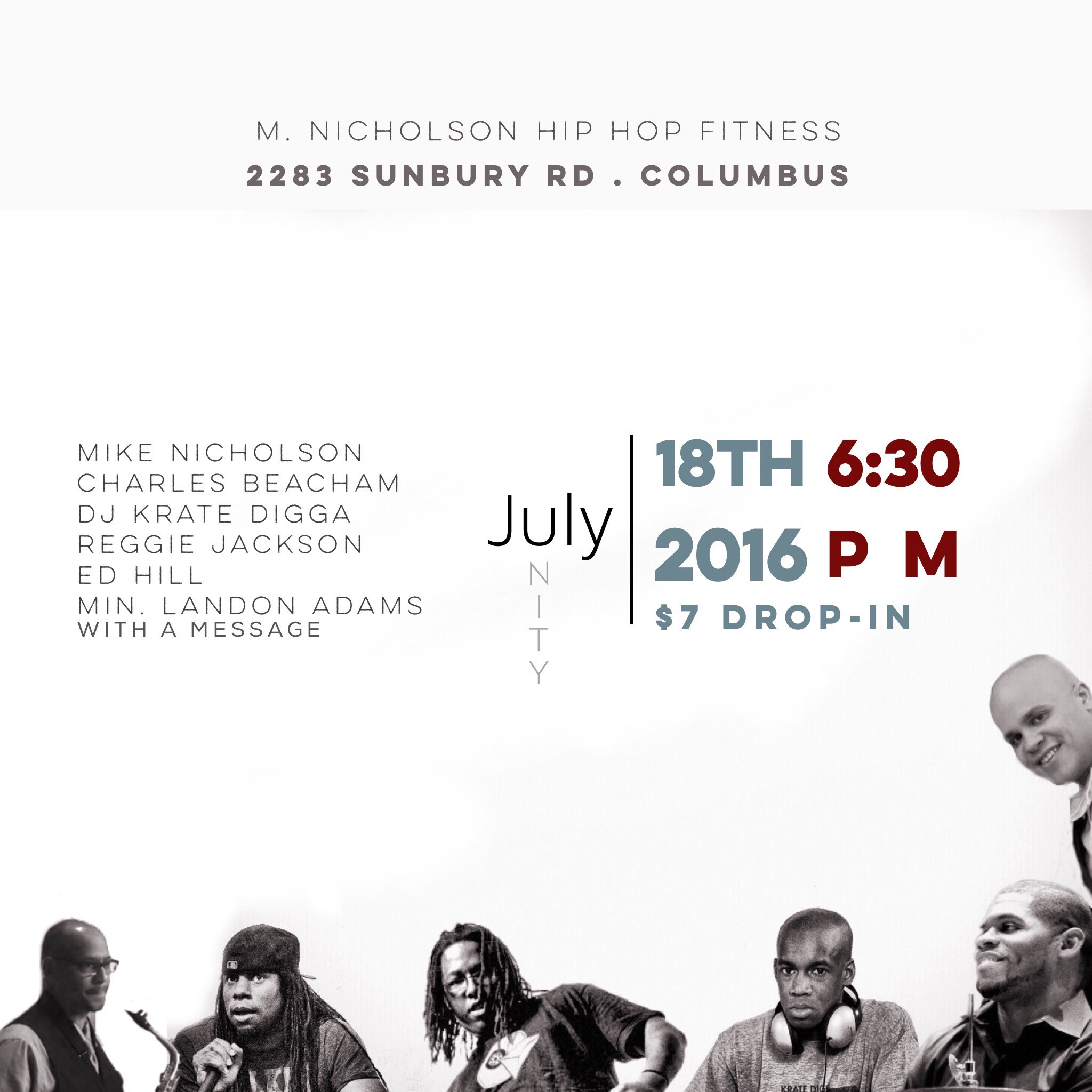 M. Nicholson hip hop fitness and unity