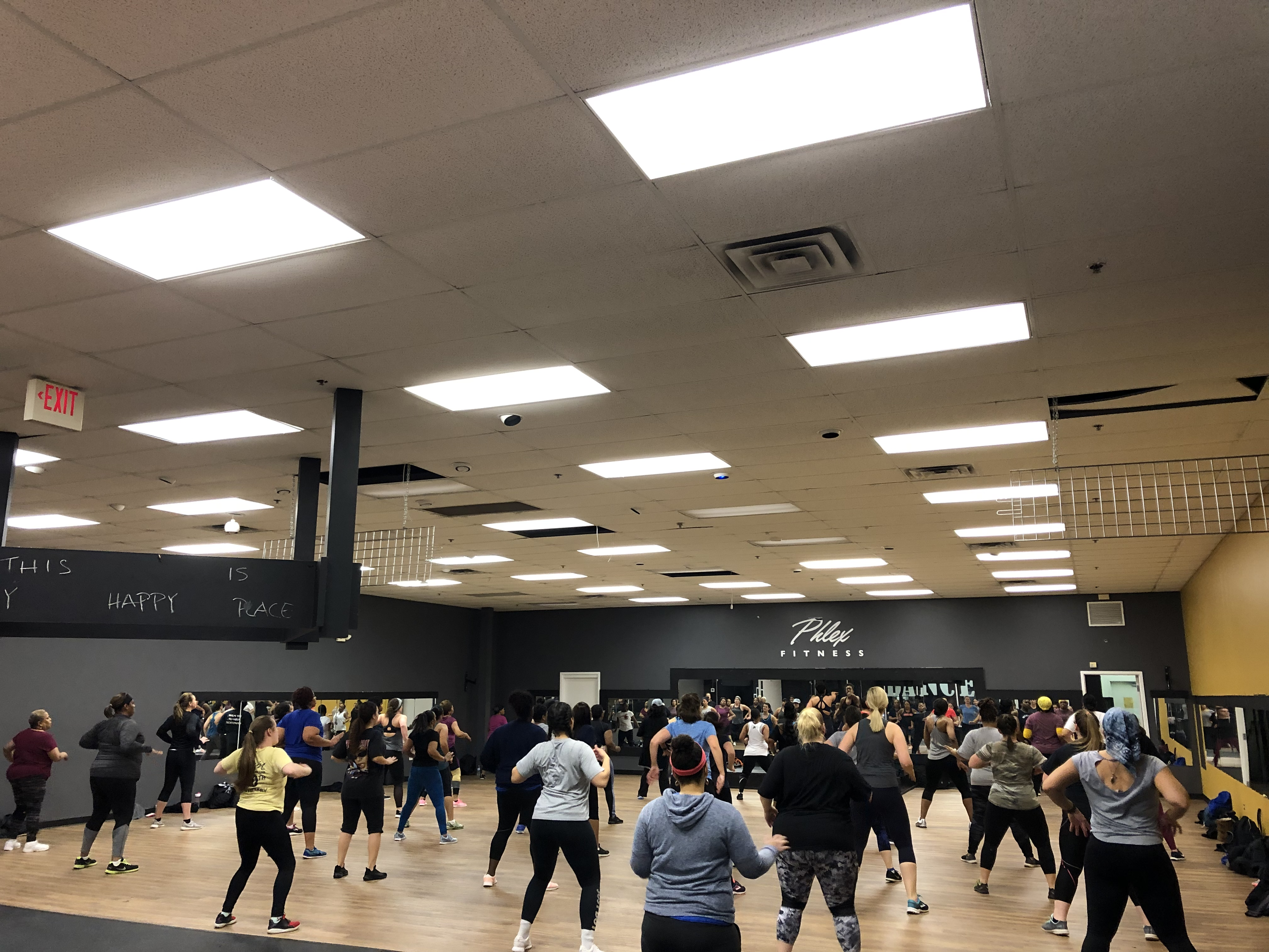 M. Nicholson Hip Hop Fitness dance fitness classes are lead by none other than Mike Nicholson as well as some other dope instructors.